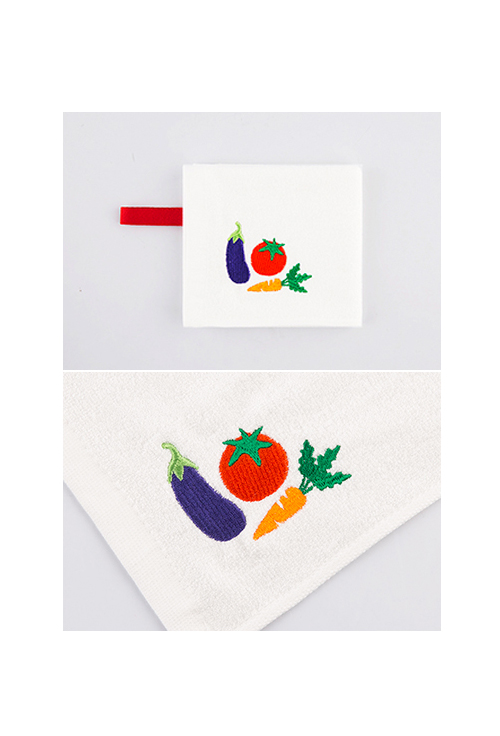 [ECOBRIDGE] BAMBOO MINI TOWEL ver.3 - eat green