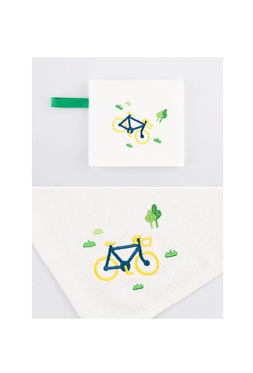 [ECOBRIDGE] BAMBOO MINI TOWEL ver.3 - save air