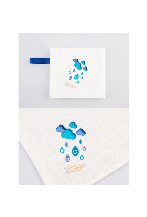 [ECOBRIDGE] BAMBOO MINI TOWEL ver.3 - save water