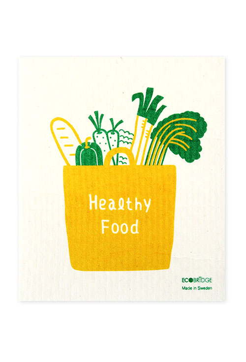 [ECOBRIDGE] DISHCLOTH 스웨덴 행주 - healthy food