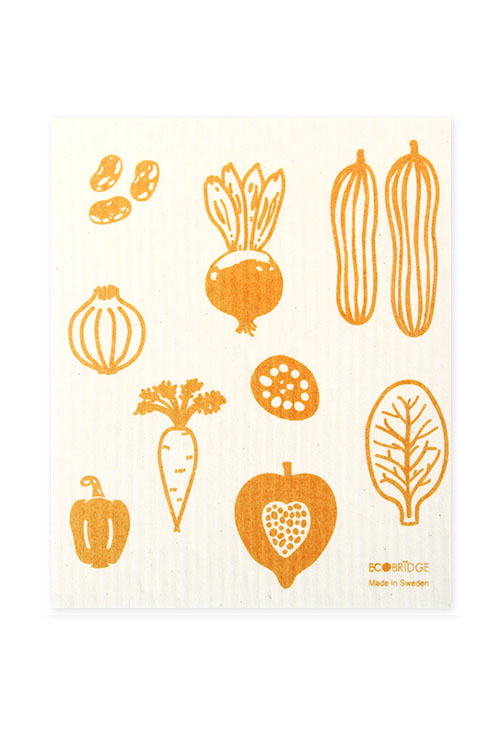 [ECOBRIDGE] DISHCLOTH 스웨덴 행주 - vegetable